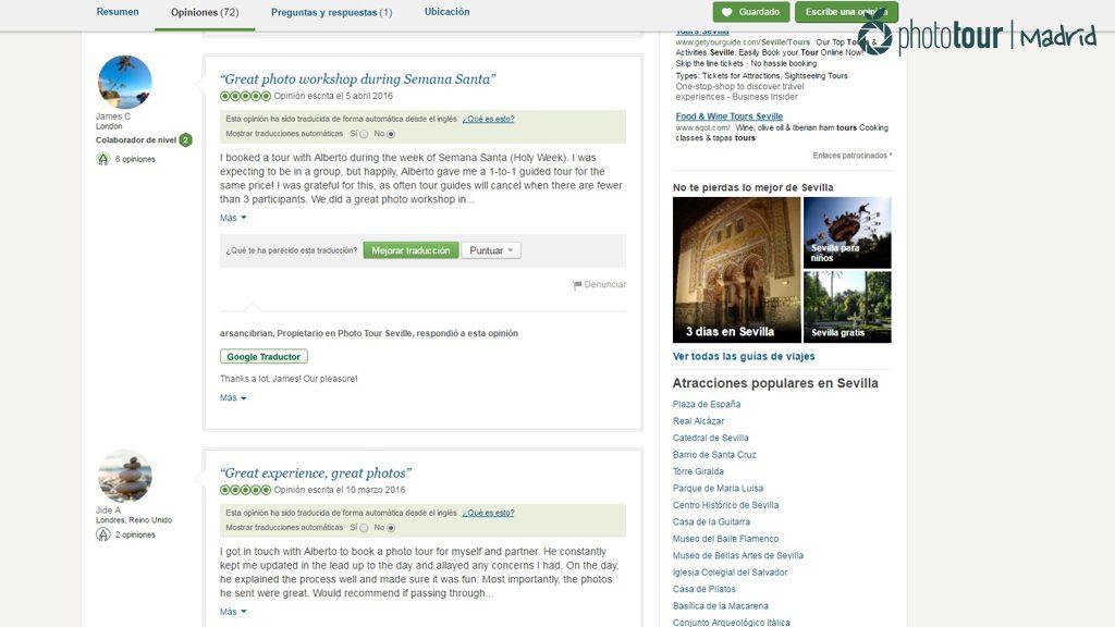 Madrid Photo Tour - Tripadvisor reviews